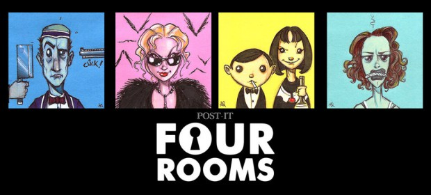 Four Rooms (Fan Art by y quinteroart.deviantart.com).