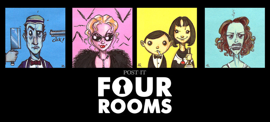 movie called four rooms