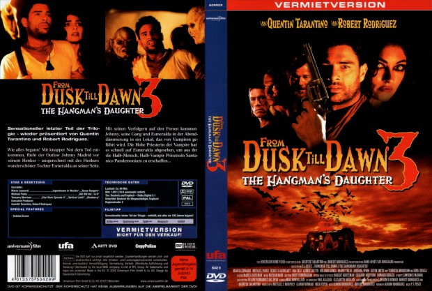 From Dusk Till Dawn 3: The Hangman's Daughter (German DVD cover).