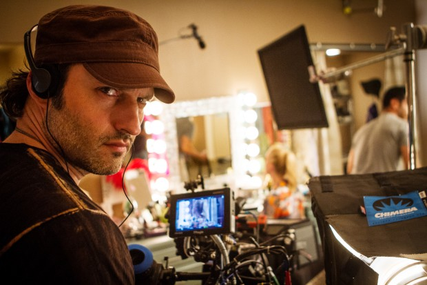 Robert Rodriguez behind the scenes of Machete Kills (Source: Troublemaker Studios).