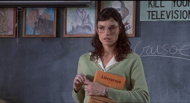 Famke Janssen in The Faculty (1998).
