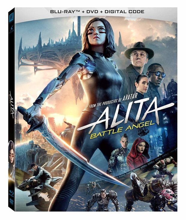 Alita: Battle Angel BluRay