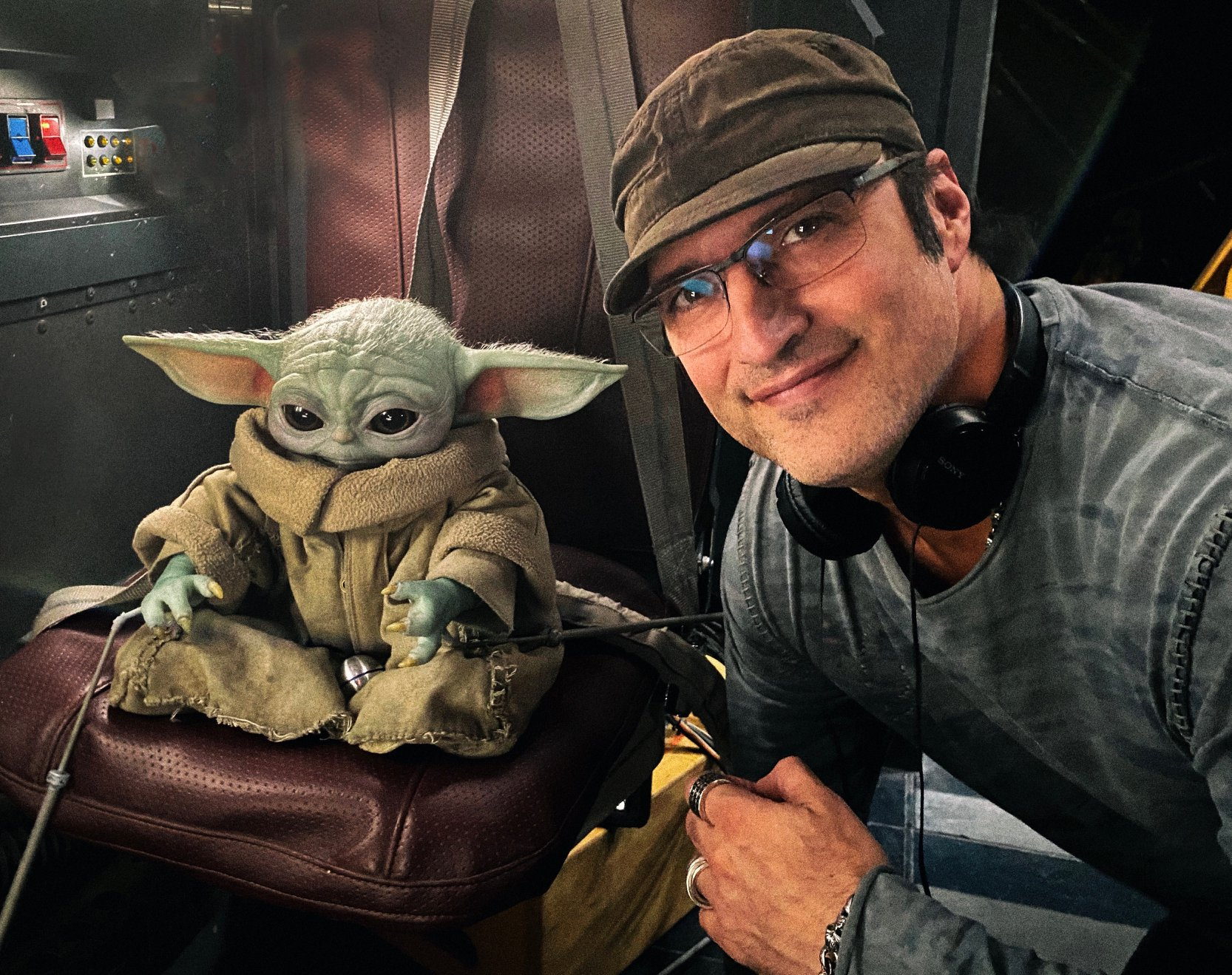 Robert Rodriguez Mandalorian Star Wars Yoda